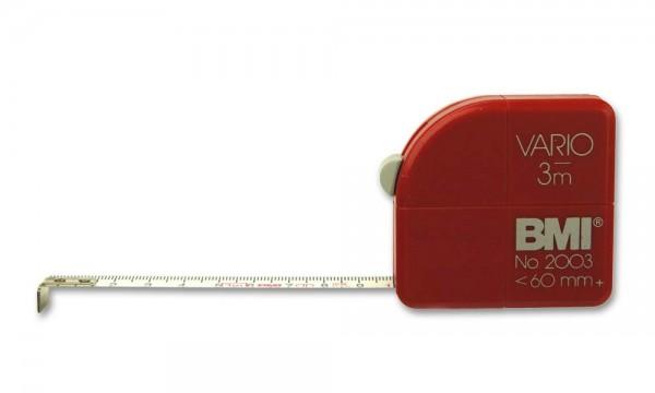 Taschenbandmaß Vario 5m suki BMI