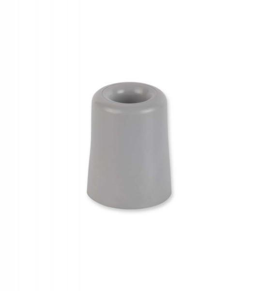 Türstopper Weichkunststoff grau 40 x 50 mm suki